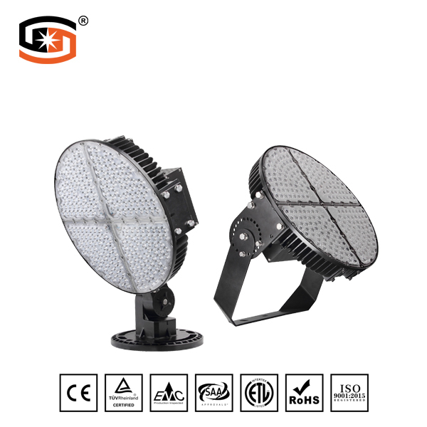 600W Functional lighting stadium lights LED