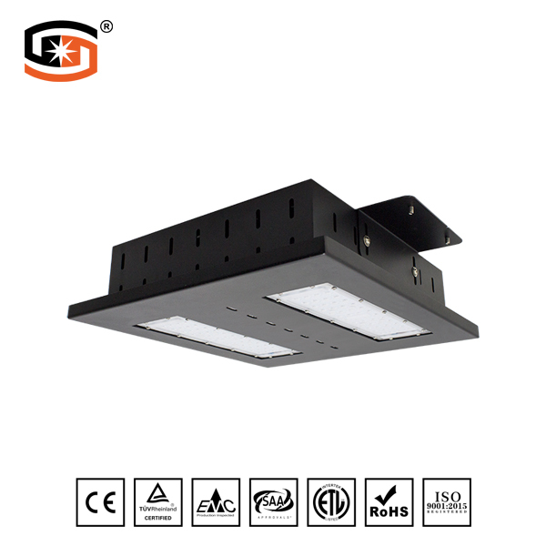 LED Petrol or Gas Station Light Baron Series Black