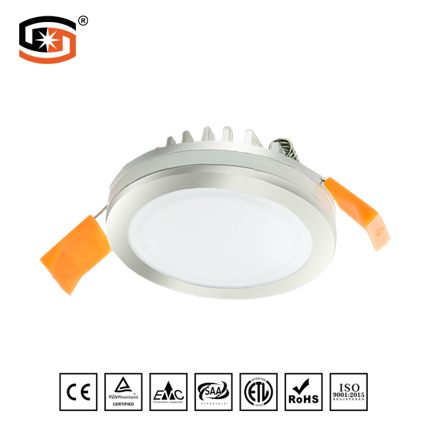 Round recessed Plating LED DOWN LIGHT Star Series