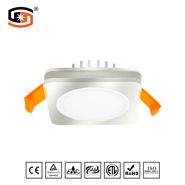 Square recessed Plating LED DWON LIGHT Star Series