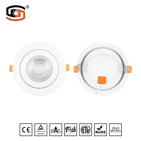 Adjustable Round LED down light