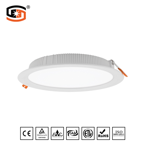 Round LED down light