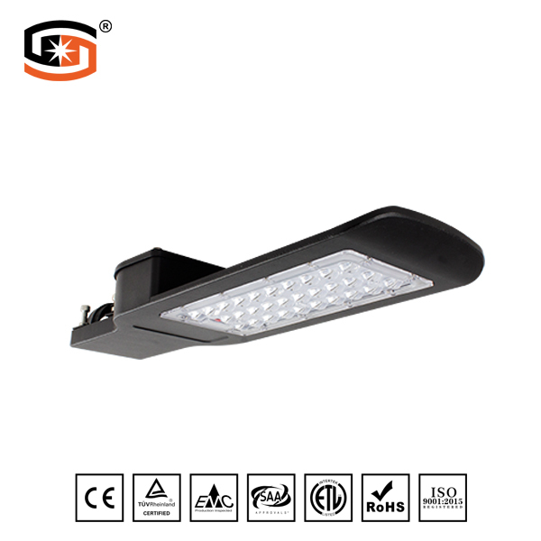 Black LED STREET LIGHT 30W