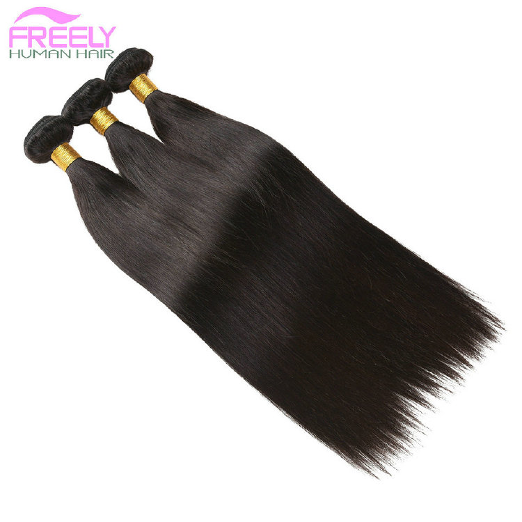 18 20 22 inch 3 Bundles Straight Unprocessed Huma Hair Exten