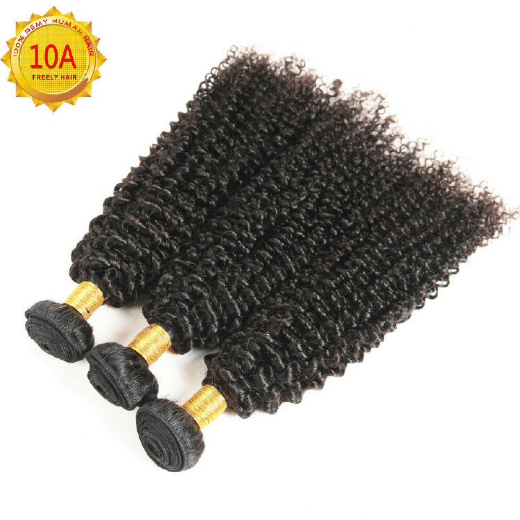 "20""20""20"" Kinky Wave Unprocessed Virgin Human Hair 3 Bundles"