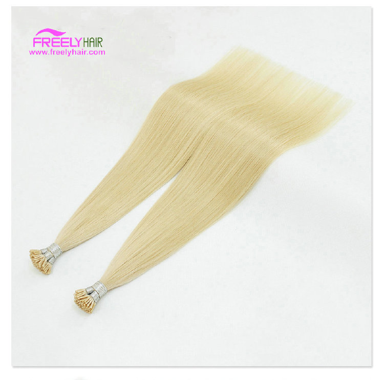 22 Inch Straight Stick Hair I Tip Keratin Remy Hair Extensio