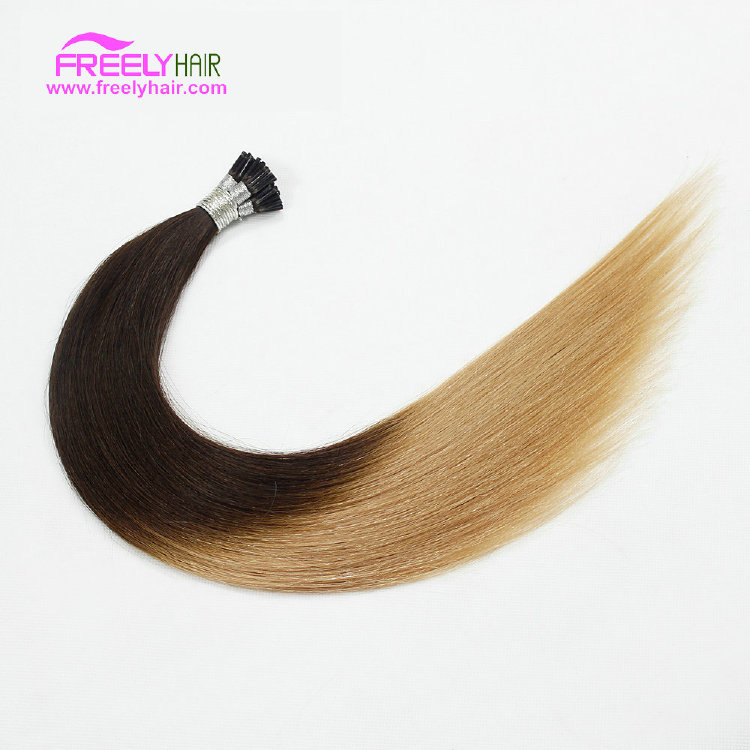 16 Inch Straight Stick Hair I Tip Keratin Remy Hair Extensio