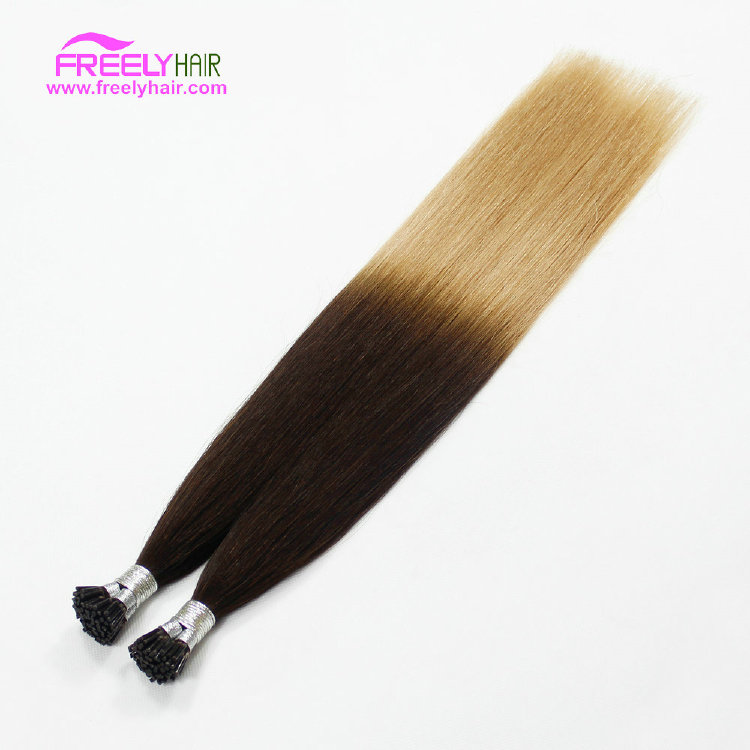 18 Inch Straight Stick Hair I Tip Keratin Remy Hair Extensio