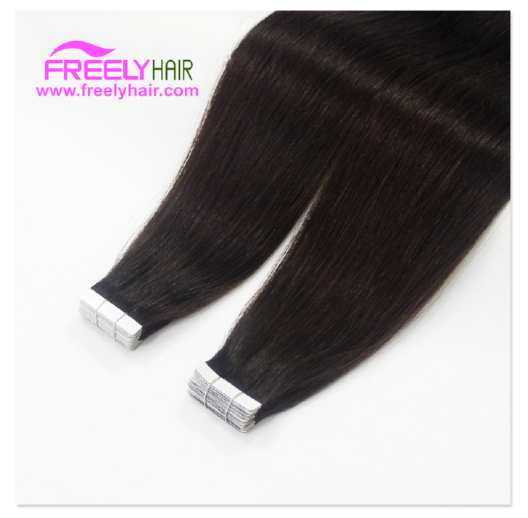 "22"" Remy Tape in Hair Extension 2g/piece 20pieces/Pack Natur"