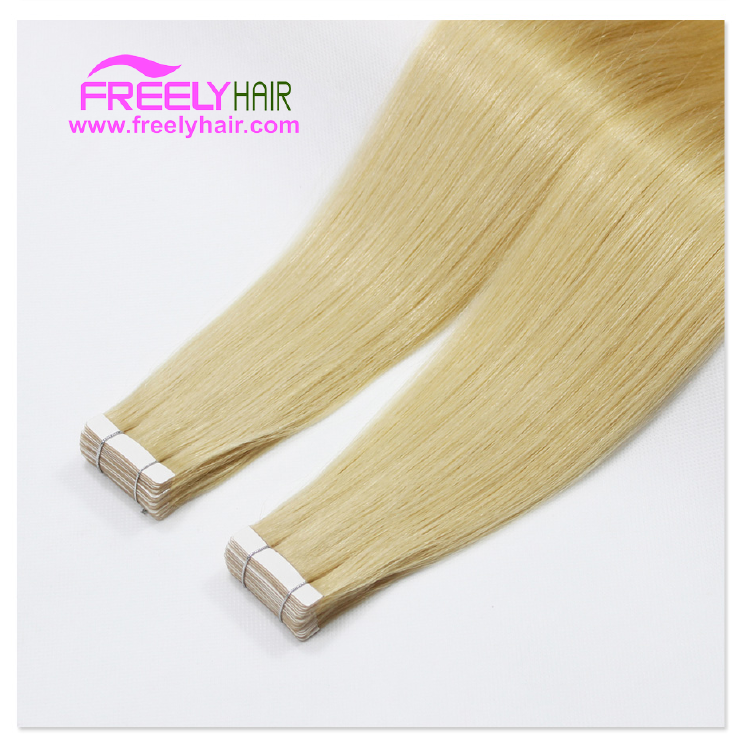 "16"" Remy Tape in Hair Extension 2g/piece 20pieces/Pack Light"