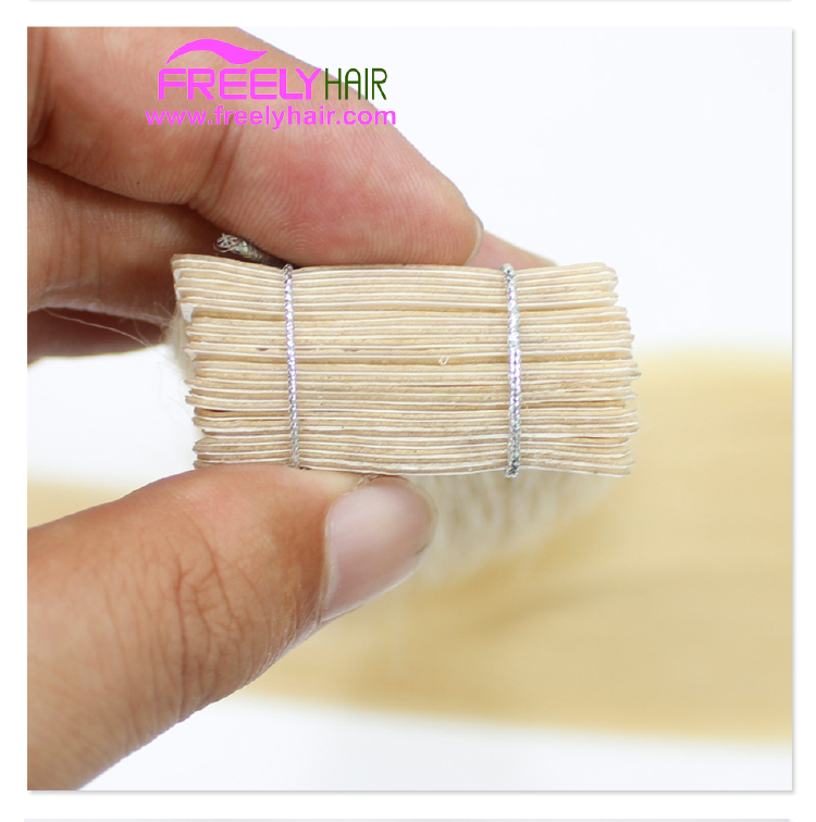 "18"" Remy Tape in Hair Extension 2g/piece 20pieces/Pack Light"
