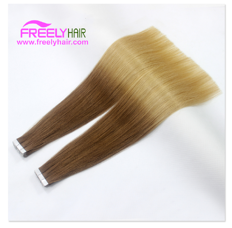 "18"" Remy Tape in Hair Extension 2g/piece 20pcs/Pack Ombre Co"