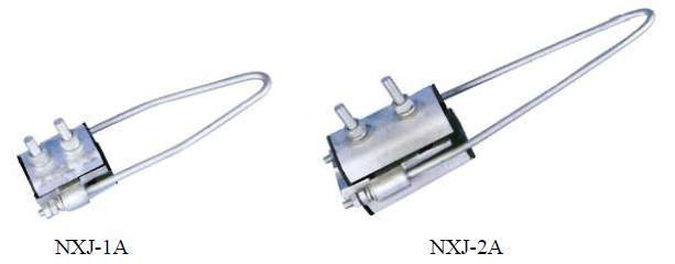 NXJ series four-cores-centralized strain clamp