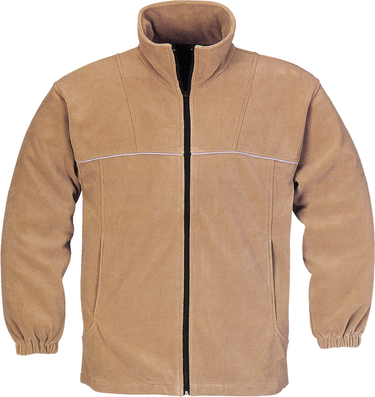 soft and warm fleece jacket