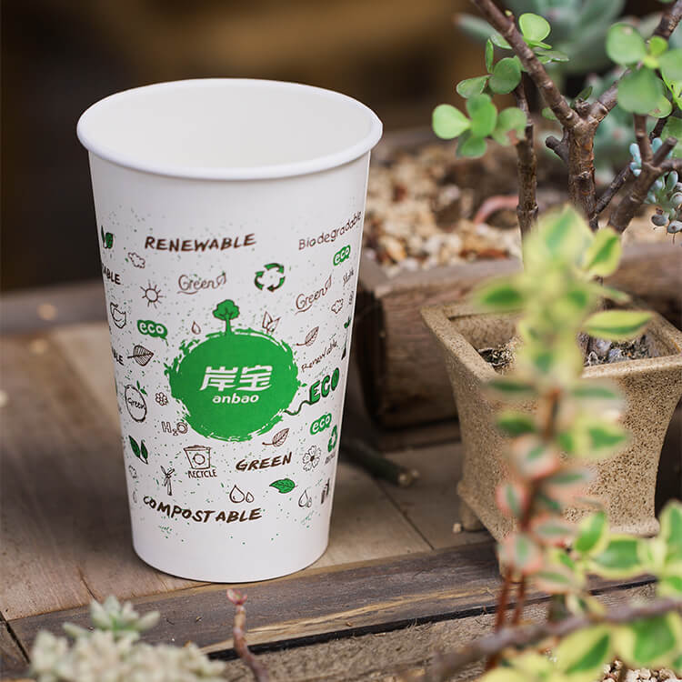 Excellent Quality Low Price PBS Paper Cup Fan Coated PE Disp