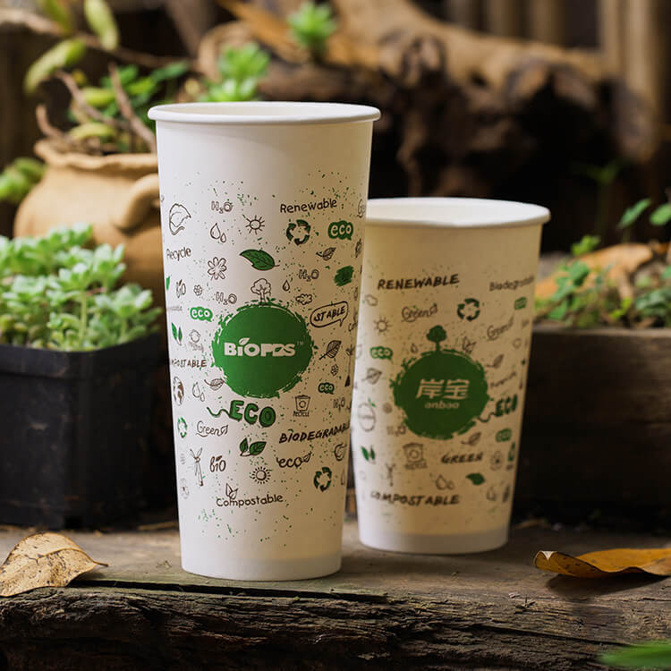 4 oz 5 oz 6 oz 8 oz Double Wall Compostable Vending Biodegra
