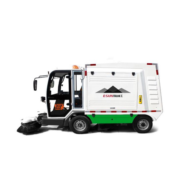 electric street cleaner and street sweeper truck for sale