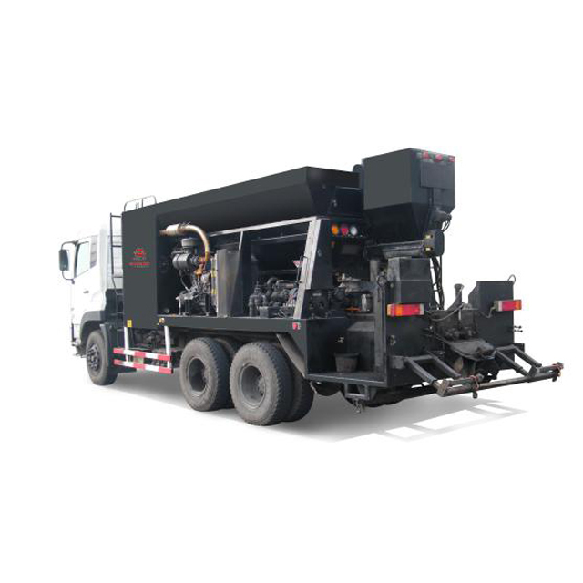 asphalt slurry seal equipment  and crack sealer.