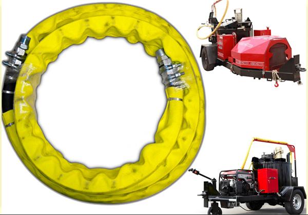 Crafco/Cimline crac用沥青电热软管的更换