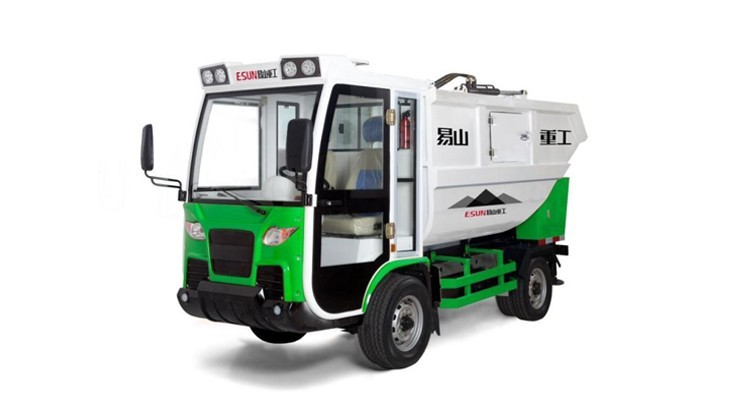 Electric Garbage Collector Garbage Compactor Truck