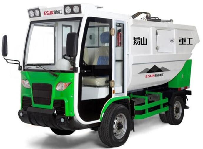 Electric Four-Wheelers vehicle used For Waste Collection