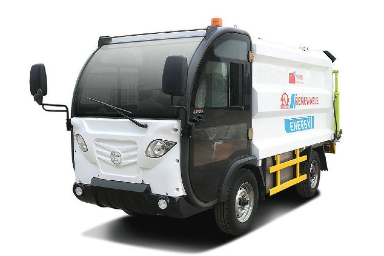 Electric garbage truck for community or appartment