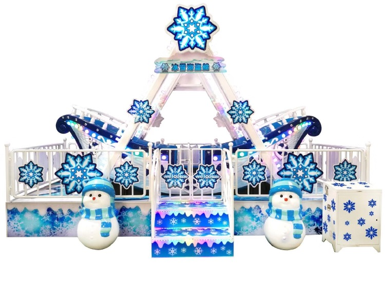 Snow pirate ship