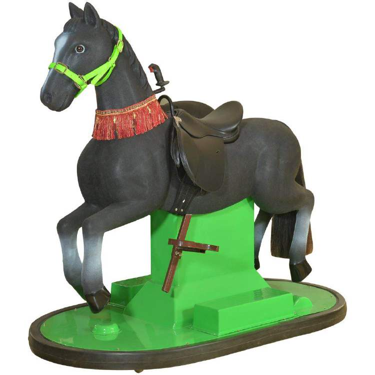 JS-BC002 Battery racing horse