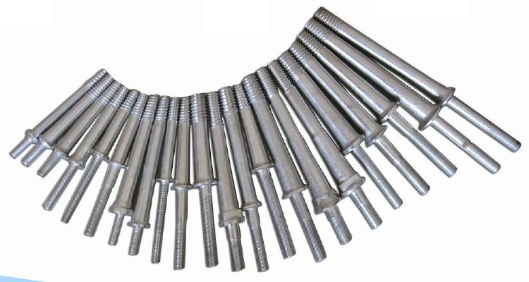 Spindles for pin type insulators BS and AS standard