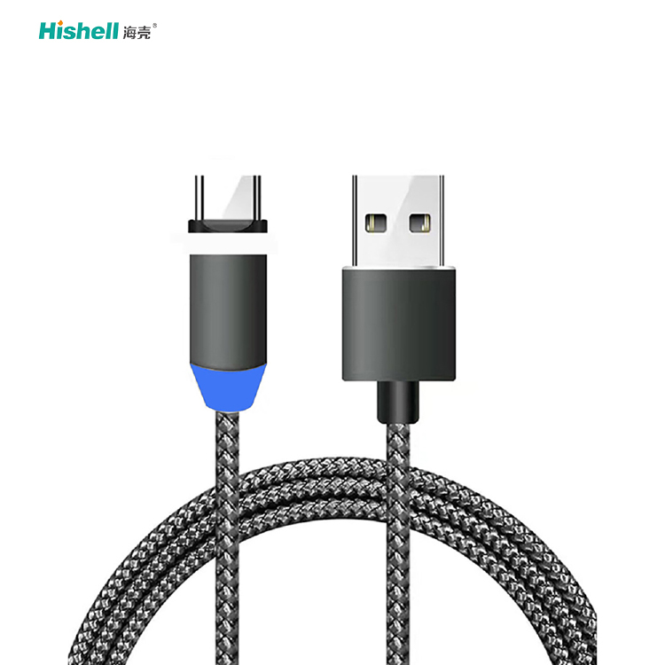 360 Degree Magnetic Charging Cable Compative With ios/androi