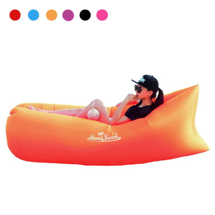 Monobeach Air Lounger Sofa with Carry Bag (Orange)