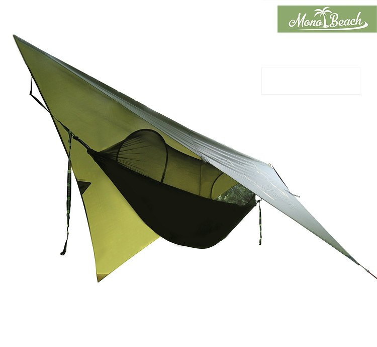 Hammock Tent with Mosquito Net for Camping, Portable Hammock
