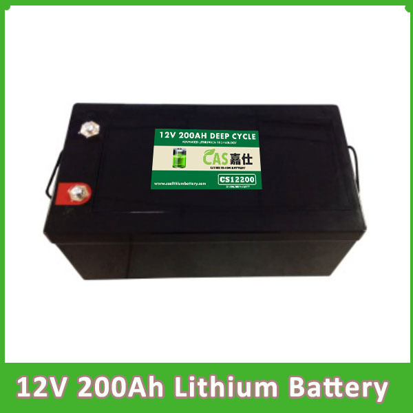 La batterie profonde rechargeable de lithium-ion de Lifepo4