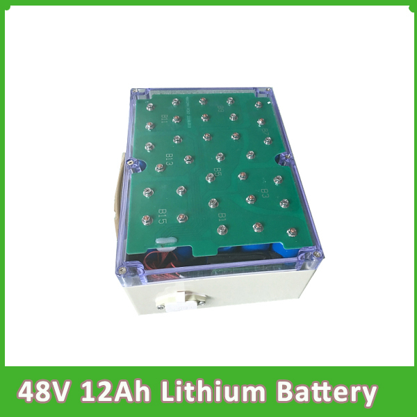 Portable Long time cycle  48V 12AH Lithium Battery for solar