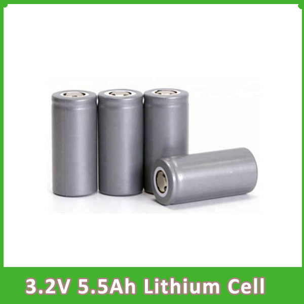 32650 Rechargeable 3.2V 6AH Lithium LiFePO4 Cell