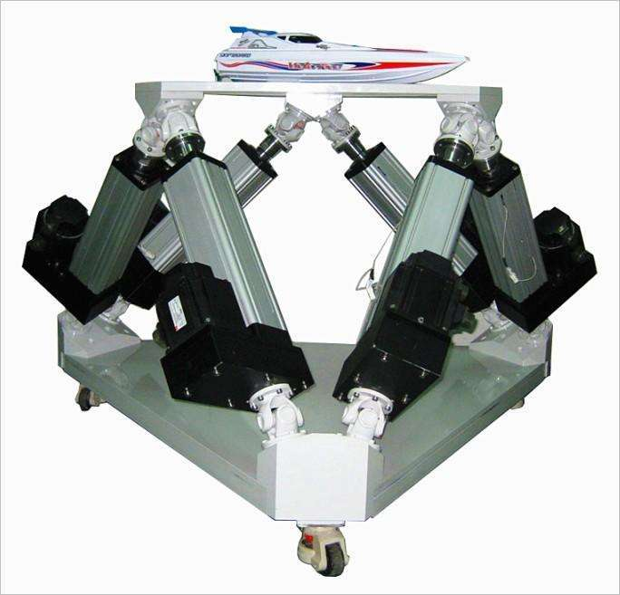 6 DOF(Degree-of-Freedom) Motion Base platform for flight simulator