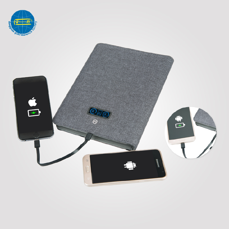 Power Bank Tablet Portfolio For Phone Holder
