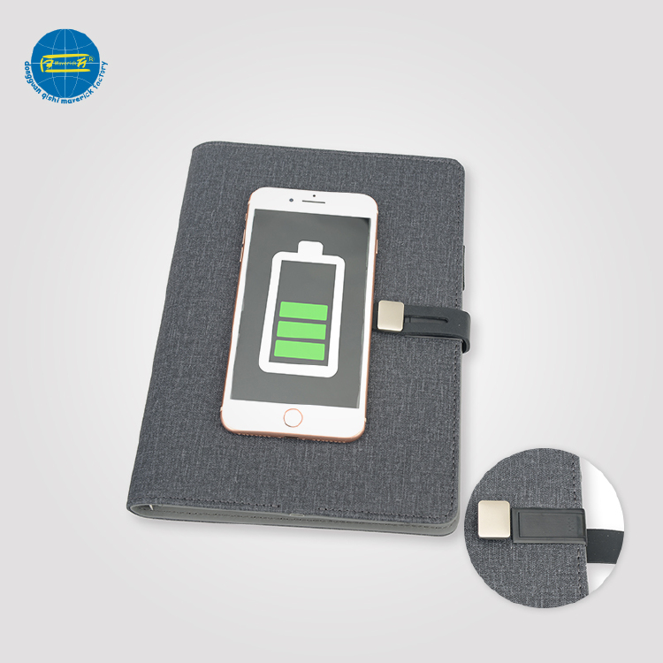 Latest wireless charging Notebook    MK-017ws