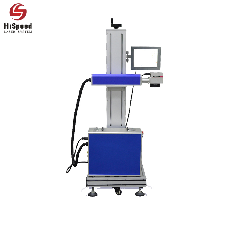 Co2 Flying Online Laser Marking Machine For NonMetal Materia
