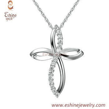SP0255 - family blessing gifts Diamond look sterling silver
