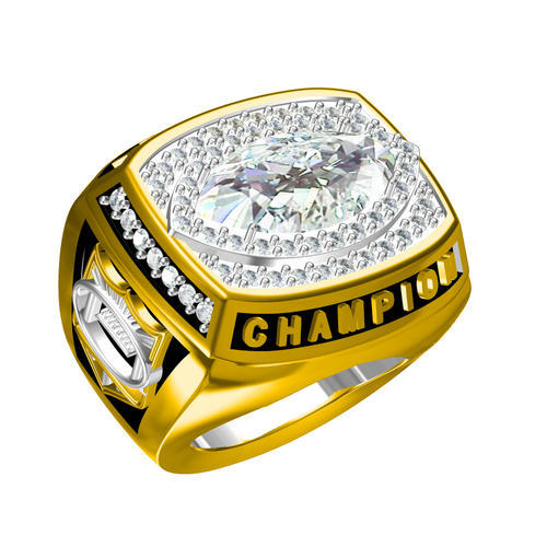 Championship ring factory -  world league 14K gold filled tw
