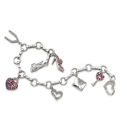 Charm bracelet collections - Fashion charms with various the