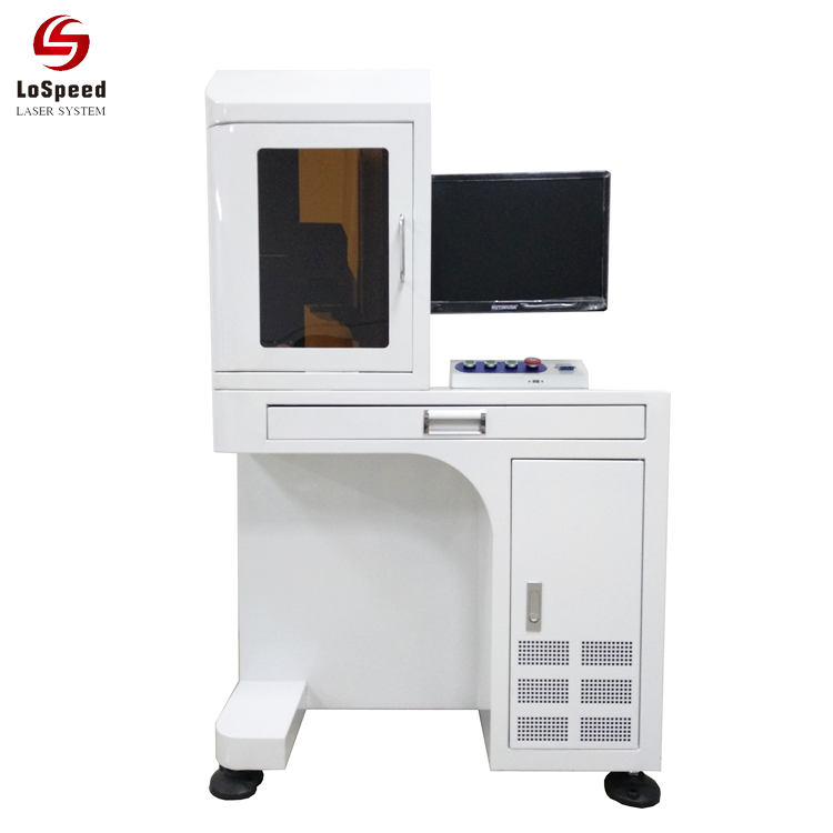60W Fiber Laser Marking  Engraving Machine