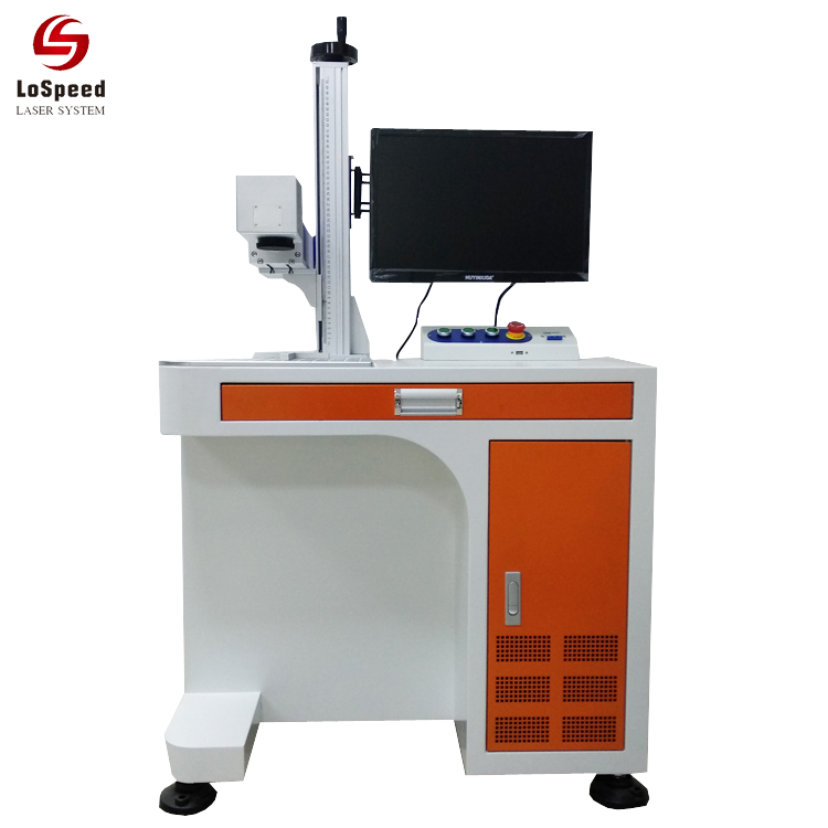China Dongguan Fiber Laser Marking Engraving Machine System