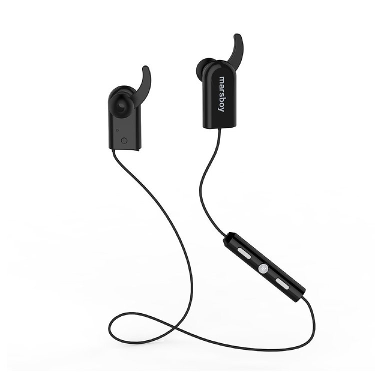 Marsboy Bluetooth V4.0 Headphones Wireless Swift Sweatproof