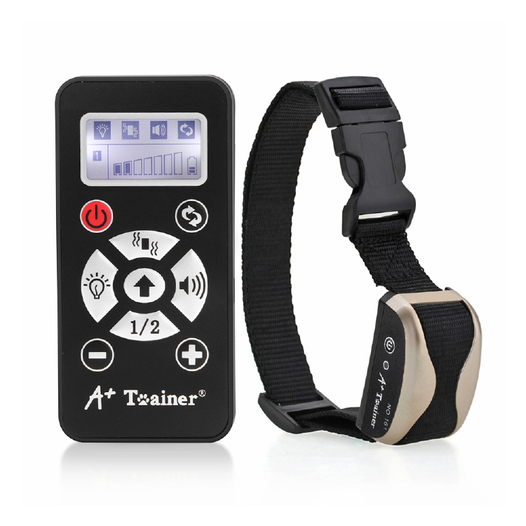 Un Collare + Trainer Dog Training Auto Anti Barking Collari