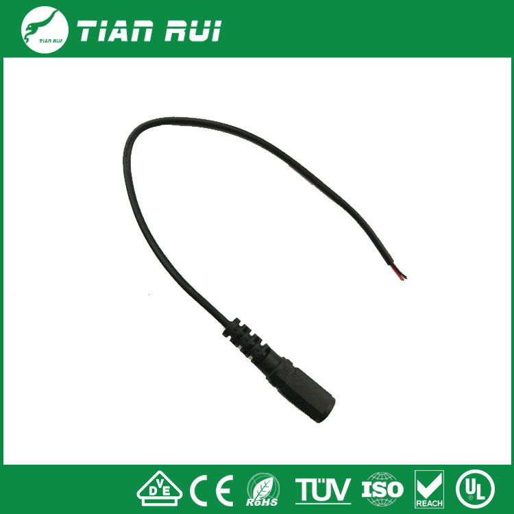 DC female with tin connector cable