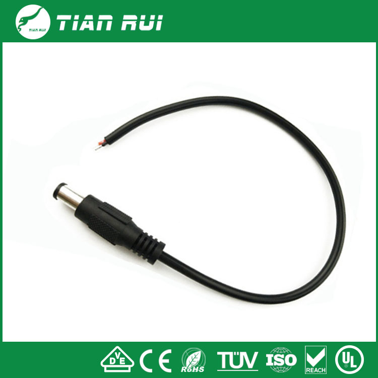 DC male with tin connector cable