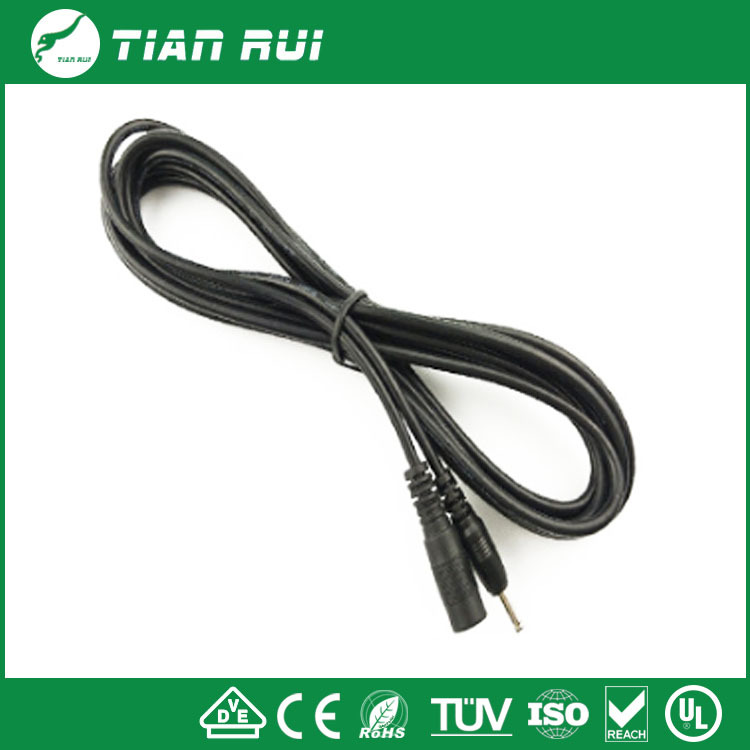 DC male to female power extension cable