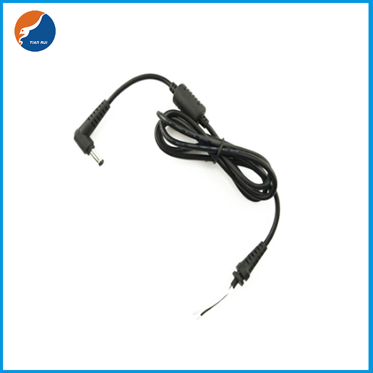 DC power cable with magnetic ring